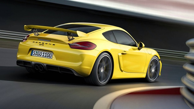 2016 Porsche Cayman - rear view