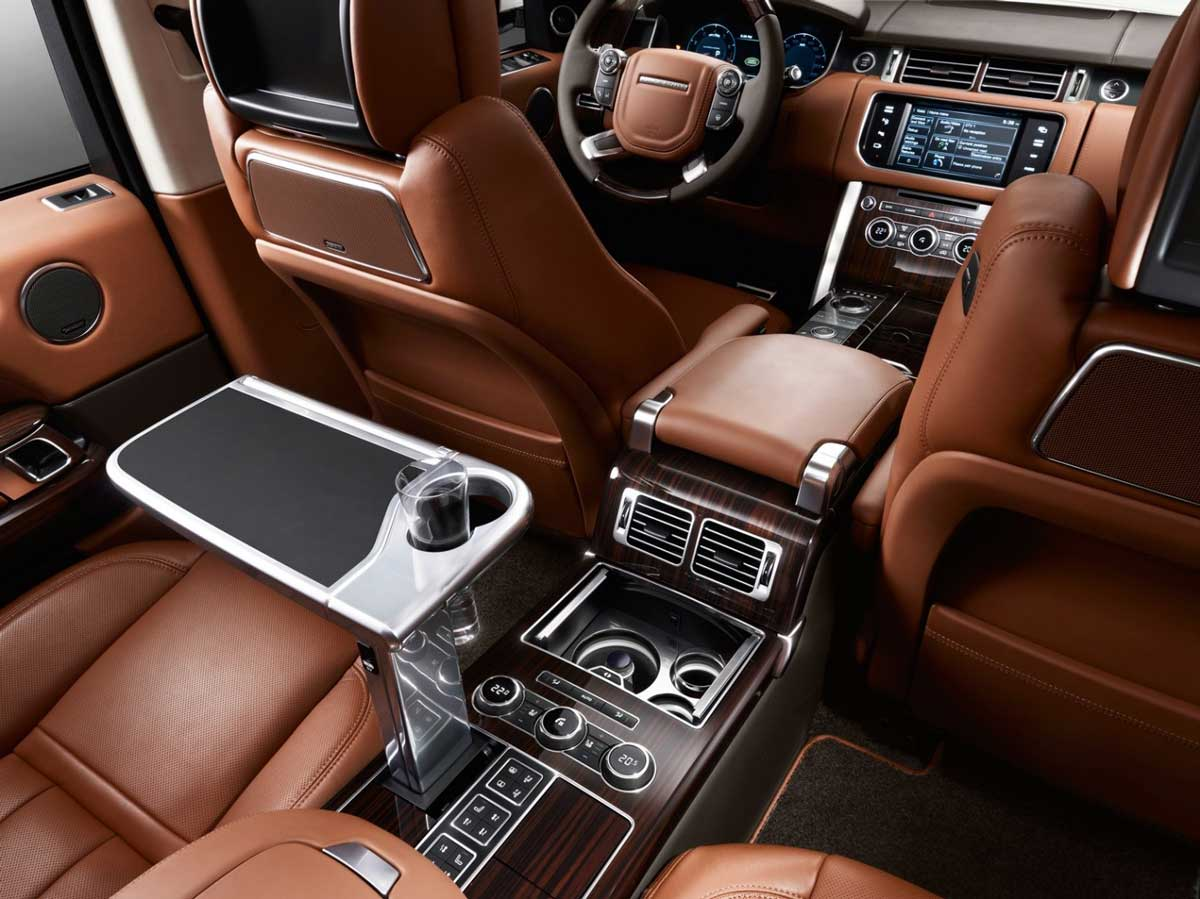 Super Luxurious Interior of Range Rover Autobiography