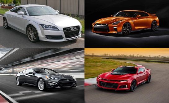 Lifestyle cars – 4 Modern Coupes and Their Features