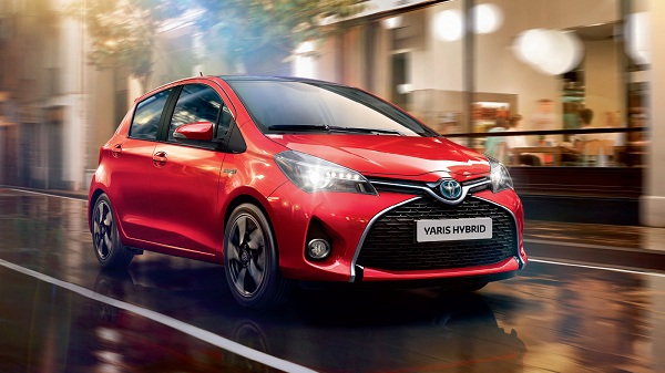 Toyota Yaris Hybrid – The Cheapest in the List