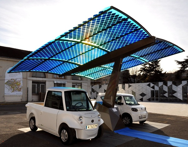 Solar-Powered Electric Cars