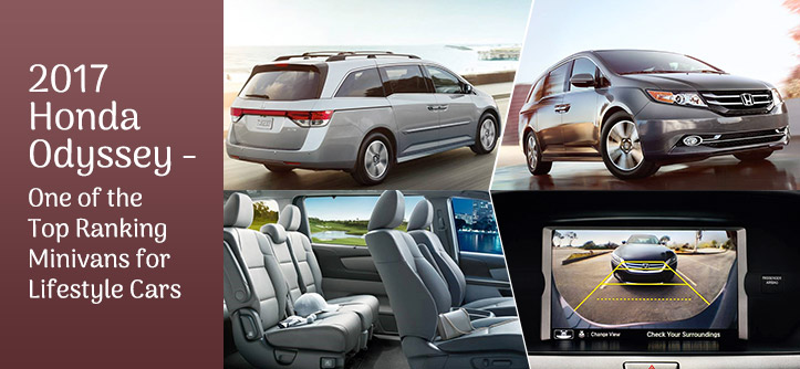 2017 Honda Odyssey - One of the Top Ranking Minivans for Lifestyle Cars