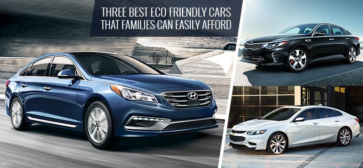 Three Best Eco Friendly Cars That Families Can Easily Afford
