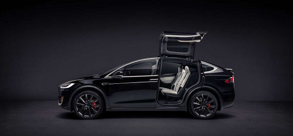 Design Of Eco Friendly Suv 2017 Tesla Model X