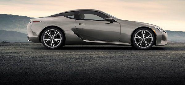 Design of Luxury Cars Dubai - Lexus LC 2018