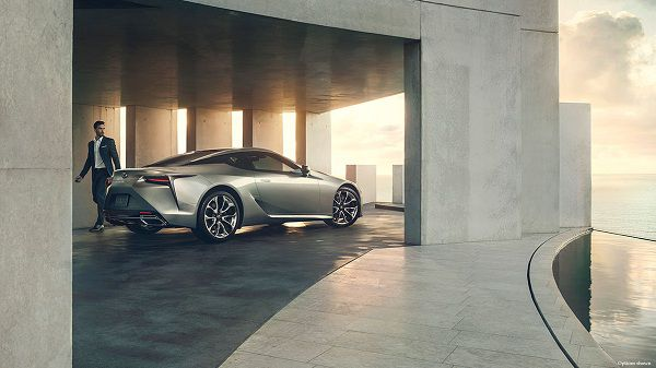 Price of Lexus LC 2018