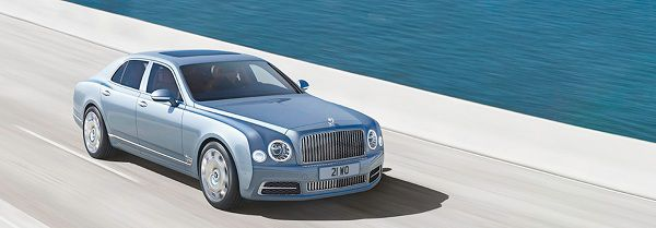 Exterior of 2017 Bentley Mulsanne