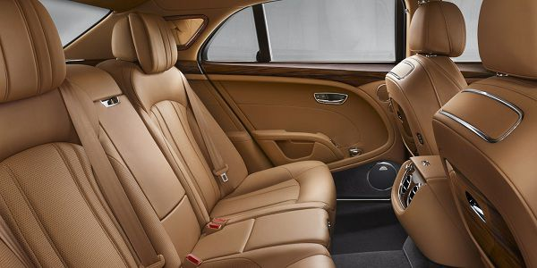 Interior of 2017 Bentley Mulsanne