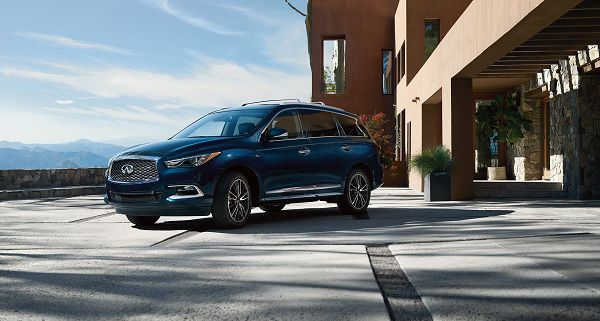 Exterior of the 2018 Infiniti QX60