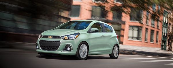 Powertrain of 2018 Chevrolet Spark