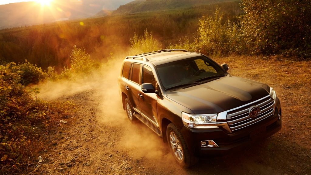 Exterior of 2018 Toyota Land Cruiser