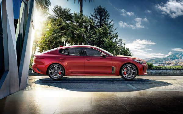 Design of the 2018 Kia Stinger – Luxury Cars Dubai