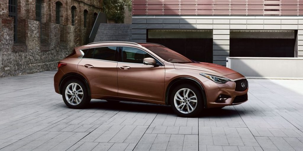Exterior Design of the 2018 Infiniti Q30