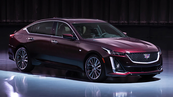 Exterior of the 2020 Cadillac CT5