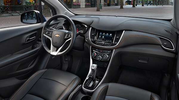 Interior of 2020 Chevrolet Trax