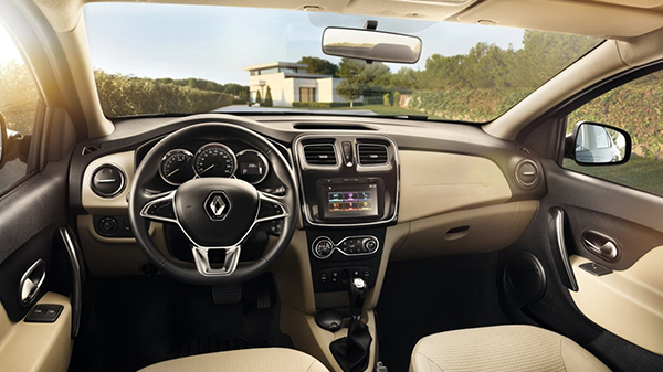 Interior 2020 Renault Symbol with Latest Safety Features