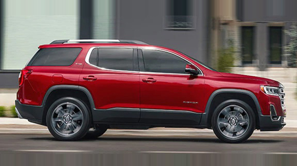 2020 GMC Acadia performance