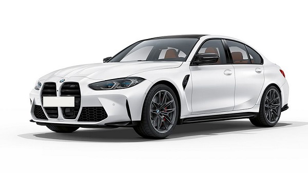 Exterior of the 2021 BMW M3