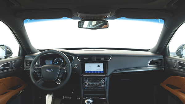 Interior of the 2021 Ford Taurus