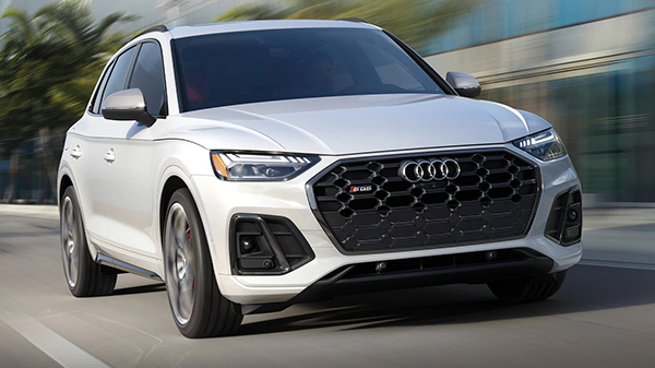 Performance of the 2021 Audi SQ5