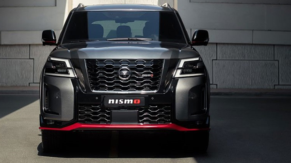Exterior of the 2021 Nissan Patrol Nismo