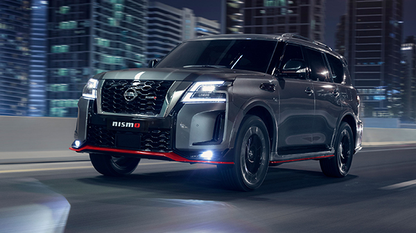 Performance of the 2021 Nissan Patrol Nismo