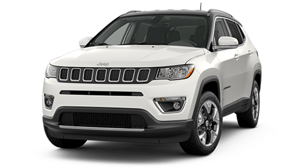 Exterior of the 2021 Jeep Compass