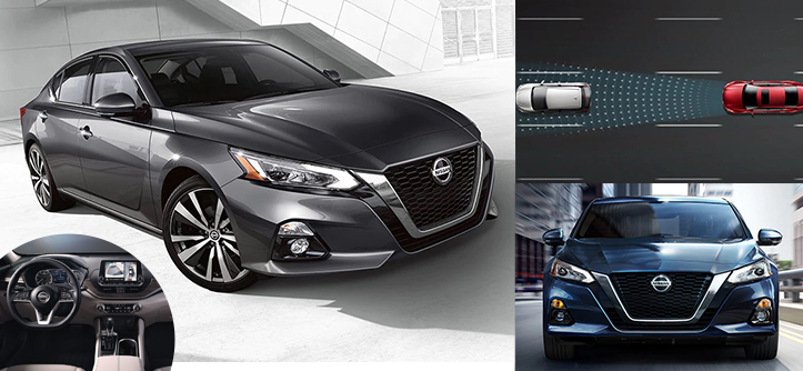 2021 Nissan Altima with Latest Safety Technologies
